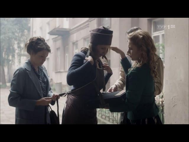 """""""Wojenne dziewczyny"""" - Marysia w paszczy lwa - scena z odc. 22"""