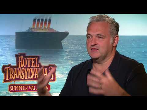 Hotel Transylvania 3: Summer Vacation || Genndy Tartakovsky - Director Soundbites || SocialNews.XYZ