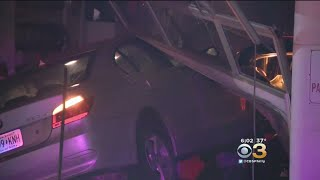 Car Crashes Into Auto Repair Shop In Mayfair: Police