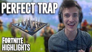 The Perfect Trap! Fortnite Battle Royale Highlights - Ninja