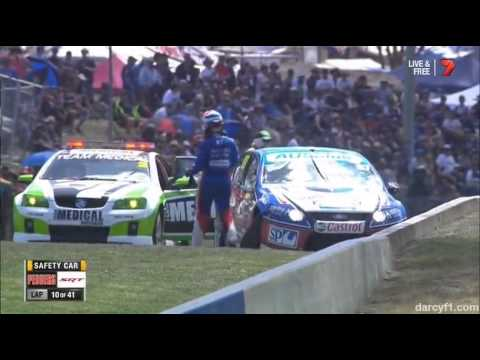 Walsh Crash @ 2014 Dunlop V8 Supercars Bathurst