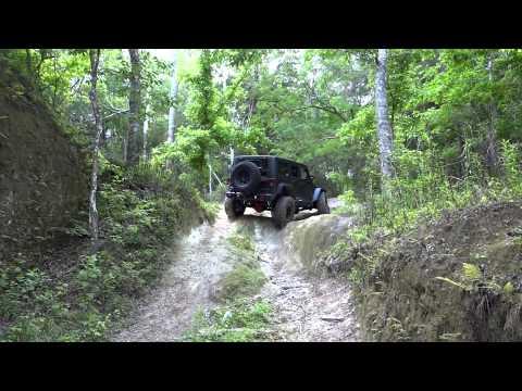 Jeep JK off road adventure Florida 4x4