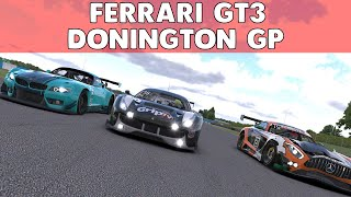 iRacing   A Great Advert for Triple Monitors   VRS GT Sprint Series at Donington Park Circuit