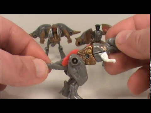 TRANSFORMERS 3 DOTM DINOBOTS MINICON SET TOY REVIEW