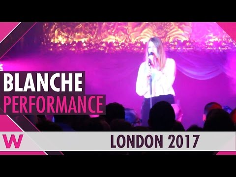 "Blanche ""City Lights"" (Belgium 2017) LIVE @ London Eurovision Party 2017"