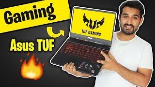 Gaming on Asus TUF  Gaming Laptop !!