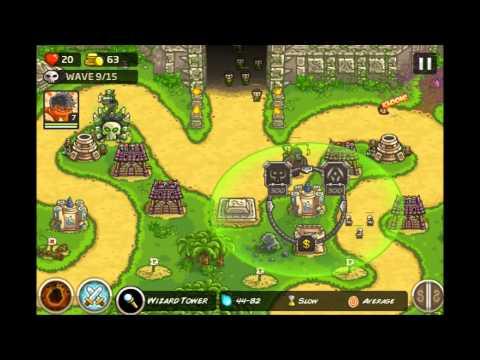 Kingdom Rush Frontiers -  Temple of Saqra 3 Stars E11