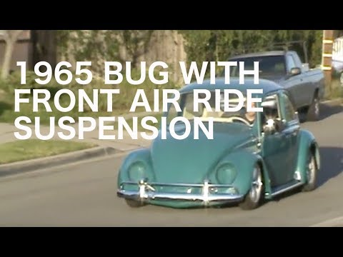 Front Air Shocks 1965 vw Bug With Front Air