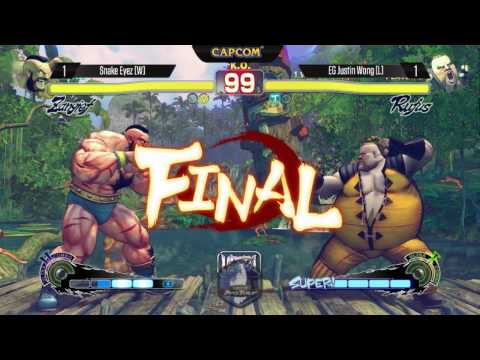 USFIV: Snake Eyez vs EG Justin Wong - SDCC2014 - Capcom Pro Tour Grand Finals
