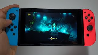 Ori and the Blind Forest: Definitive Edition Nintendo Switch handheld gameplay