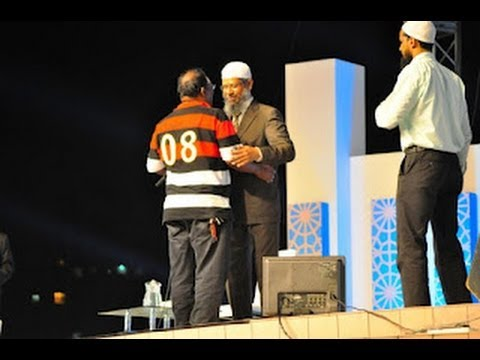 Dr.zakir Naik Amazing Reply - Hindu Convert To Muslim [ Malaysia Tour 2012 ] ᴴᴰ video