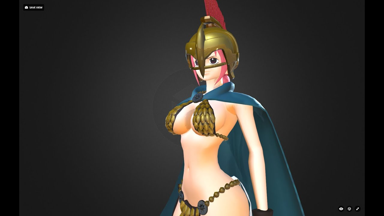 One Model One Piece Rebecca 3d Model