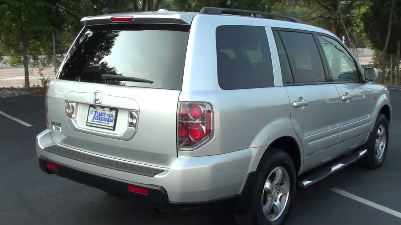 For sale 2008 honda pilot se rear ent 3rd row seating 1 owner stk p5725 youtube