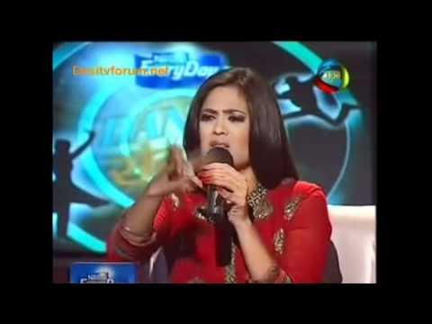 Shweta Tiwari In Red Kurta (dance Sangram) Full Part video