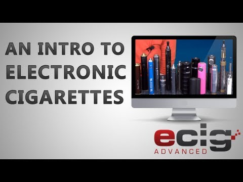An Introduction to Electronic Cigarettes for Beginners