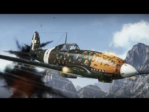 Итальянский истребитель Macchi MC.202 Folgore. War Thunder