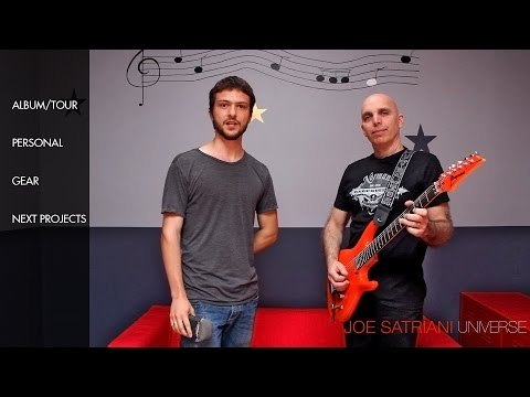 Joe Satriani - The Ultimate Interview 2014 video