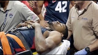 Horrorosa Lesion de Paul George - Lesion horrific Paul George