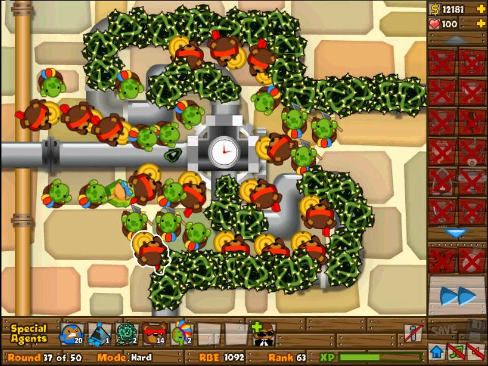 BTD5 Bloons Tower Defense 5: Special Agents Only NLL - YouTube