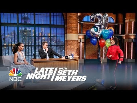 Kerry Washington Is Late Night's 300th Guest! - Late Night with Seth Meyers