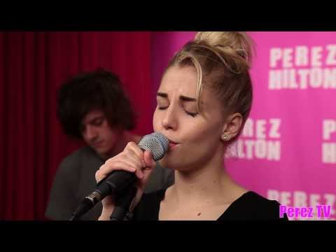 London Grammar hey Now (acoustic Perez Hilton Performance) video