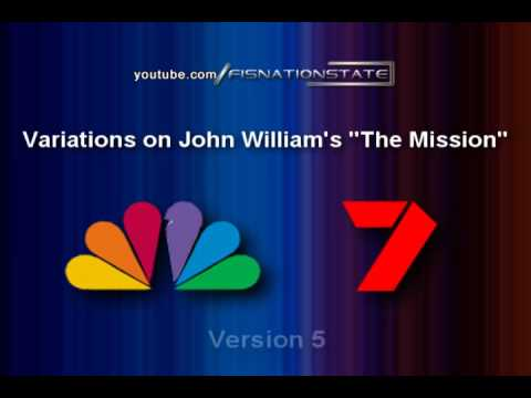 7 Variations of John William's The Mission (1985-Current)