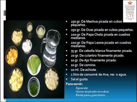 """Comida Ecuatoriana: """"Locro de Tubérculos"""""""