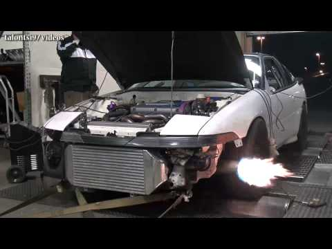1g Eclipse 6766 flamethrower dyno KP Tuning