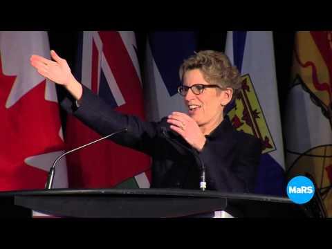 Canadian Energy Innovation Summit 2014 --Premier Wynne's Keynote Address