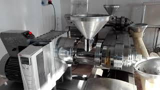 GM-5000 soguk pres yag makinalarimiz çörek otu yagi cikartiyo cold press oil machine
