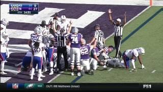Kansas at Kansas State | 2016 Big 12 Football Highlights