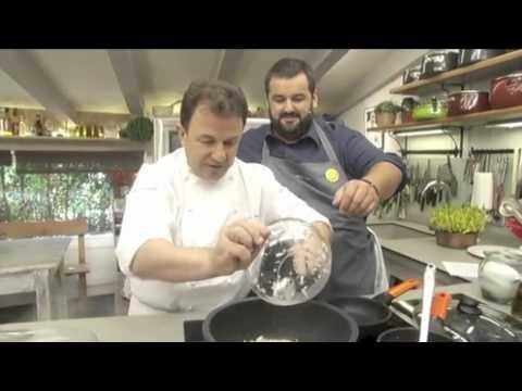 Recetas Martín Berasategui: Conejo Asado con Guisantes Robin Food (primera parte)