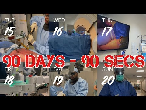 1 Sec of my Day as a Surgeon x 90 Days..Here's how it went!