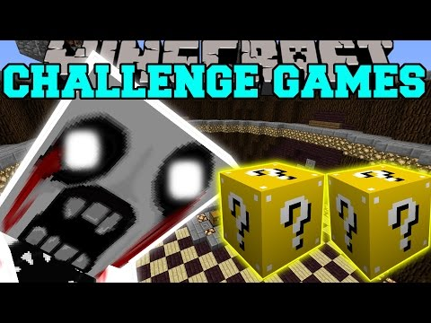 Minecraft: Mega John Challenge Games - Lucky Block Mod - Modded Mini-game video