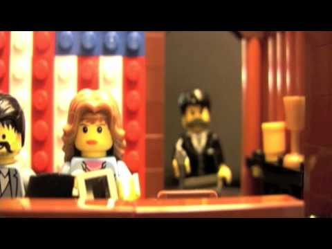 Abraham Lincoln Assassination In Lego Youtube