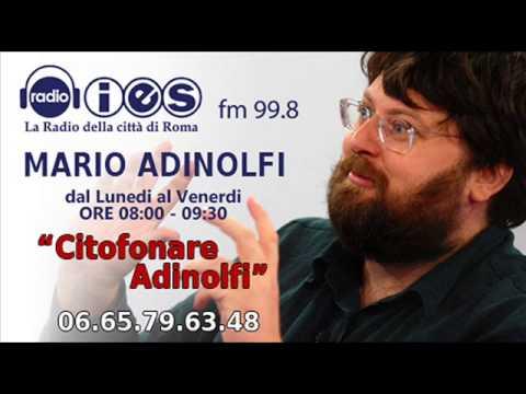 MARCO ESPOSITO (FESTIVAL DEL GIORNALISMO DI PERUGIA)  CITOFONARE ADINOLFI RADIO IES