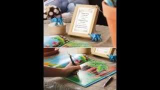 Creative Baby shower guest book ideas
