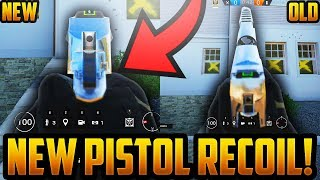 NEW PISTOL RECOIL PATTERNS & ANIMATIONS! - RAINBOW SIX SIEGE - OPERATION WHITE NOISE DLC