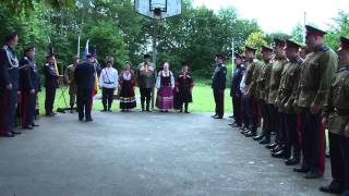 Присяга 13.06.11 город Ганновер  Internationaler Kosaken Verein Platov e.V.