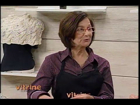Gorro em tricô com Claudia Maria - Vitrine do Artesanato na TV