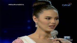 Miss World 2016: Catriona Gray Makes It To Top 5