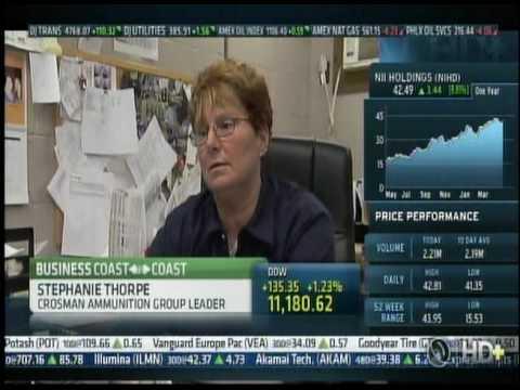Crosman on CNBC