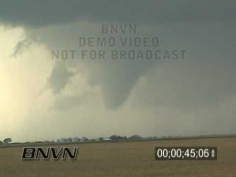 8/24/2006 South Dakota Tornado Outbreak Video