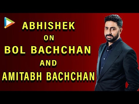 Matter Of Great Pride That I'm My Father's Son - Abhishek Bachchan