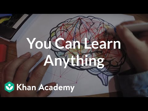You Can Learn Anything video
