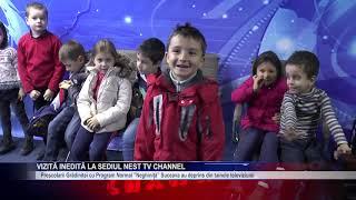 Vizită inedită la sediul Nest TV Channel