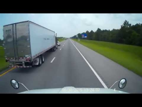 Circle City Transport Dothan Alabama reckless aggressive CDL tractor trailer truck driving