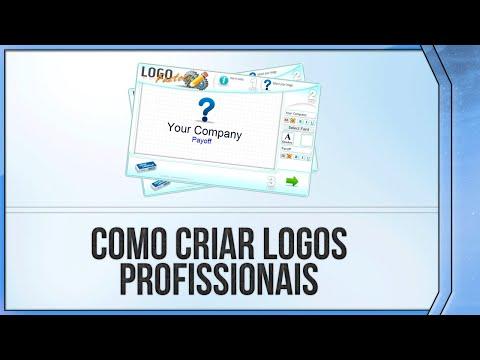 Como criar Logo Profissional em 5 Minutos Sem Programas // 2014