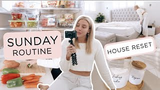 Sunday Routine// How to Organise Your House for the Week// Meal Plan, Prep, Clean + Reset the Home!