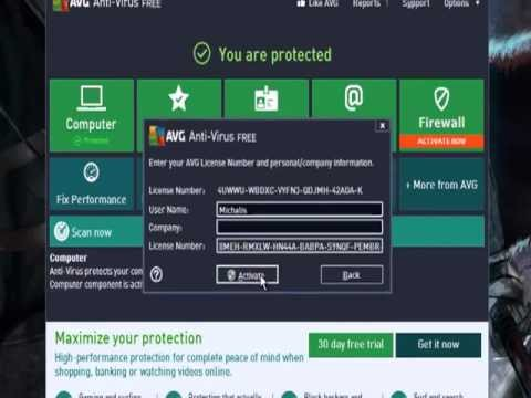 Avg Internet Security 2013 Free Serial [100% Working]